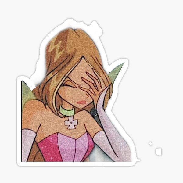 Flora Winx Club Sticker
