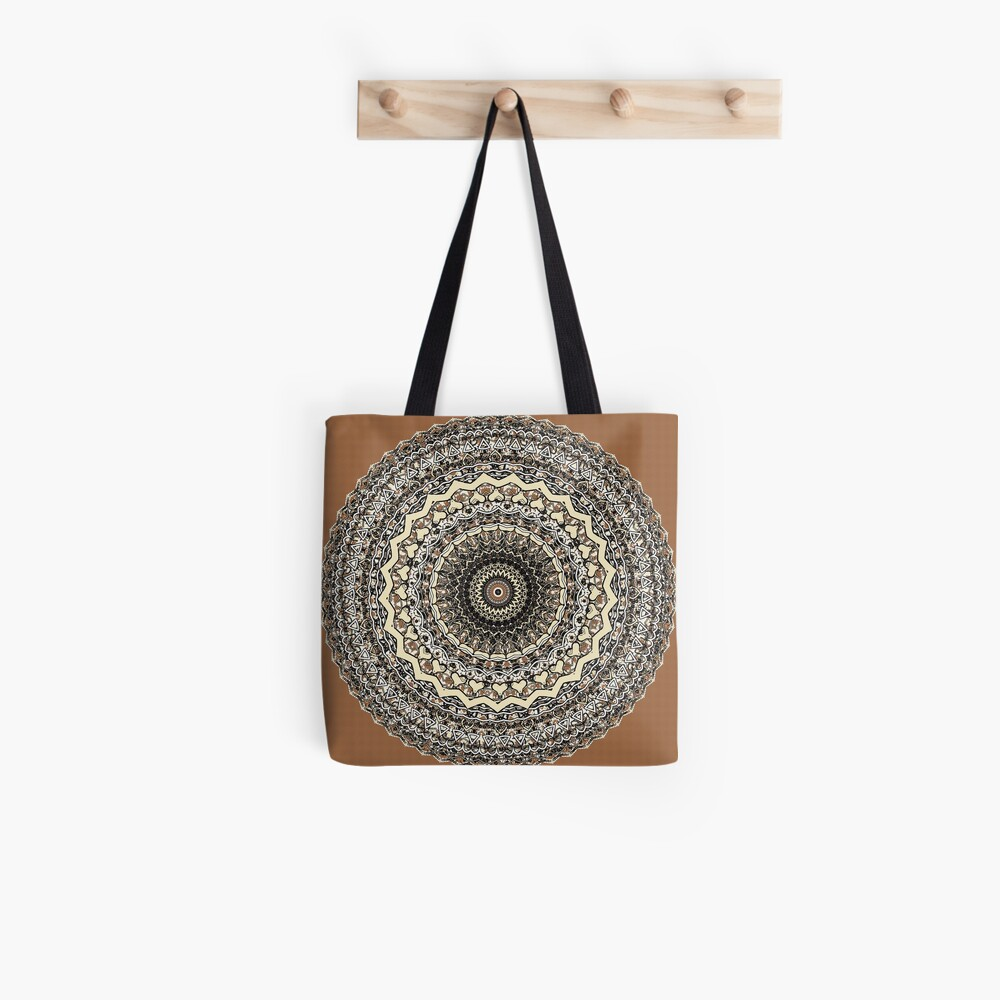 Bygone Love Mandala  Tote Bag