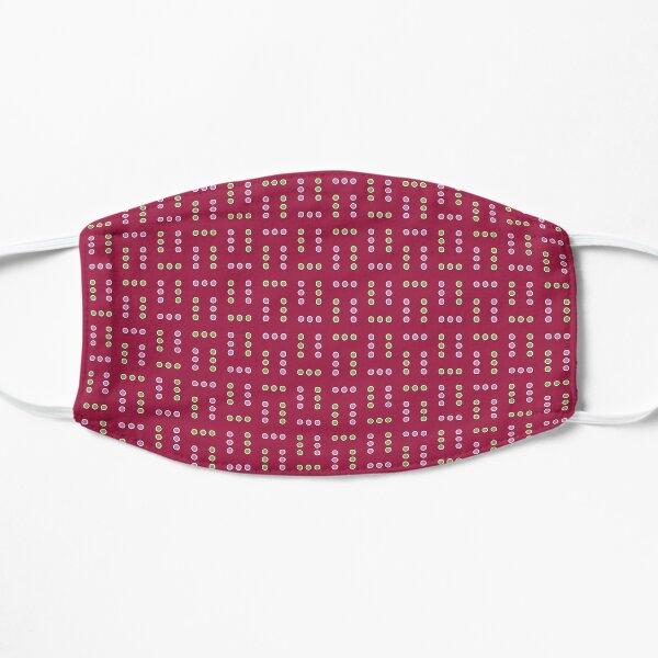 Clematis: Dots Flat Mask