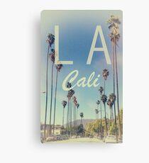 LA Cali Canvas Print