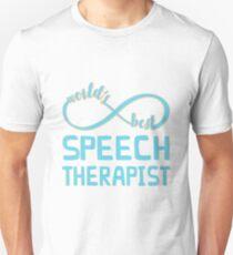 Aqua Infinity World's Best Speech Therapist Unisex T-Shirt