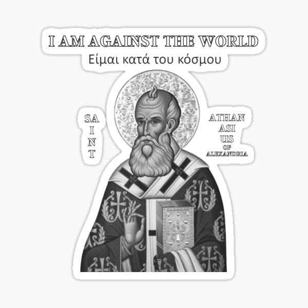 Athanasius the Great Sticker