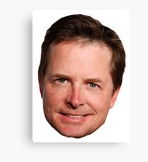 Michael J. Fox Canvas Print