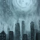 City at Night by Michaela Snyder