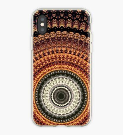 Golden Rays mandala  iPhone Case