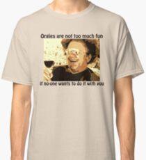 "Dr. Steve Brule ""Orgies are no fun"" Classic T-Shirt"