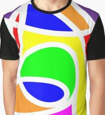 Loops Color Graphic T-Shirt