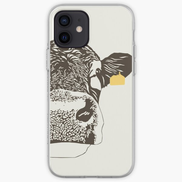 Lady Cow iPhone Soft Case