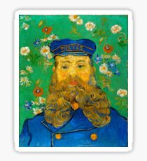 Vincent van Gogh Portrait of Joseph Roulin Sticker