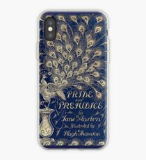 Pride And Prejudice Peacock Edition Book Cover iPhone Case