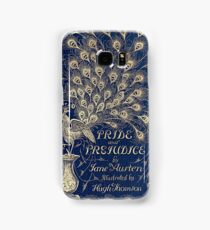Pride And Prejudice Peacock Edition Book Cover Samsung Galaxy Case/Skin