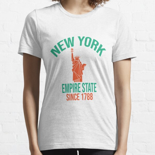 New York Empire State Since 1788 Essential T-Shirt
