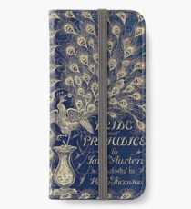 Pride And Prejudice Peacock Edition Book Cover iPhone Wallet/Case/Skin