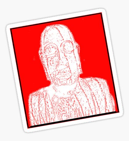Karma Red  Sticker