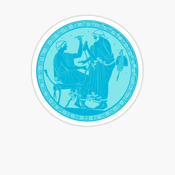 Turquoise Kylix Sticker