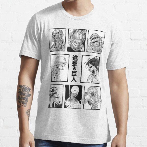 Shingeki no Kyojin .. Attack on Titan' Titans Essential T-Shirt