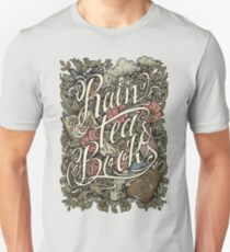 Rain, Tea & Books - Color version T-Shirt
