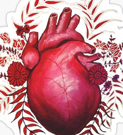 April's Broken Heart Sticker