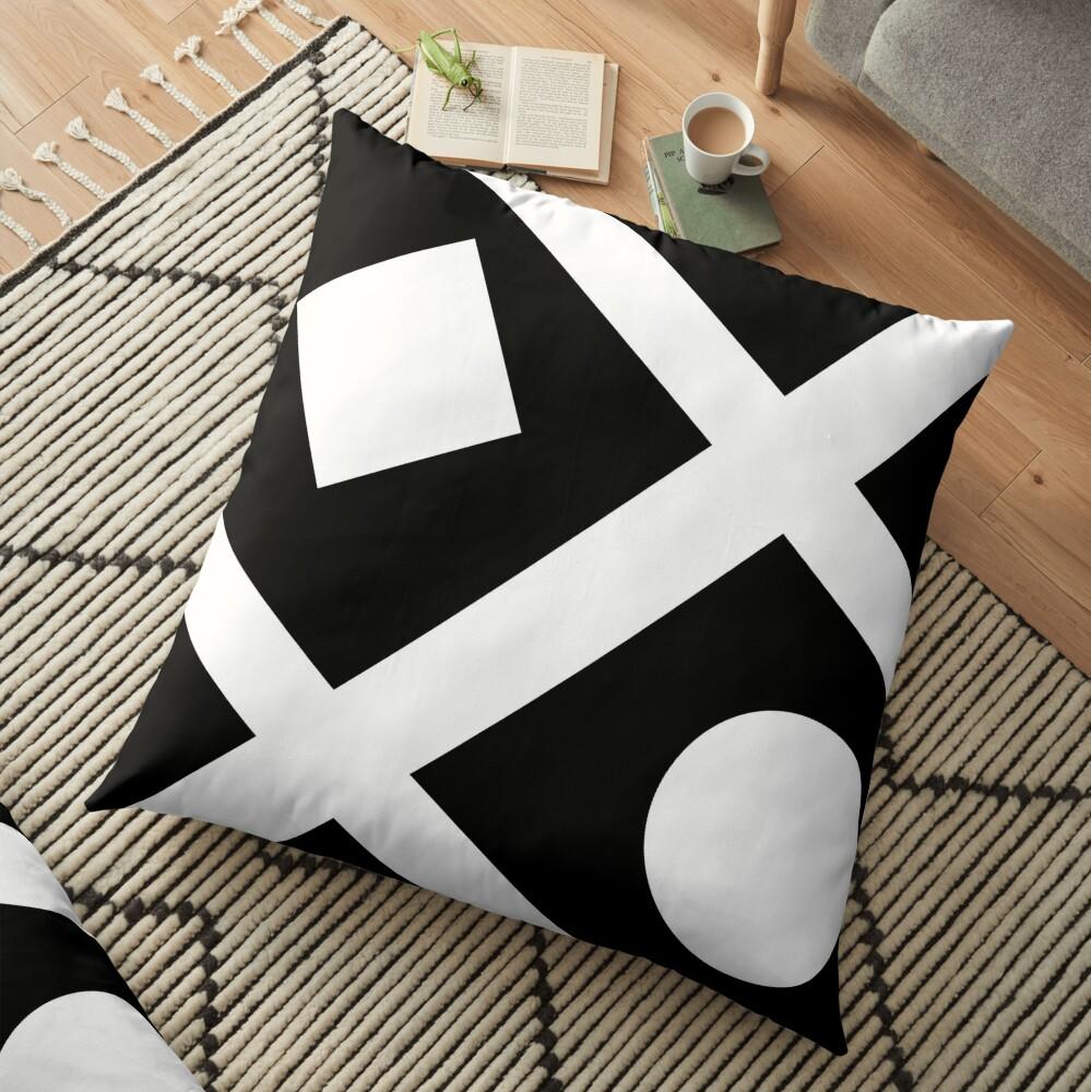 Simplicity Floor Pillow