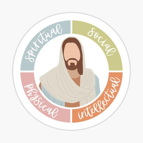 LDS Youth Personal Development Categories Sticker