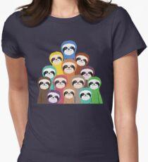 Sloth Pattern T-Shirt