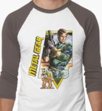 Metal Gear Men's Baseball ¾ T-Shirt