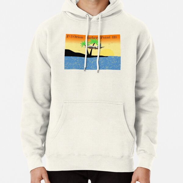 P-3 Orion, Barbers Point Hawaii Pullover Hoodie