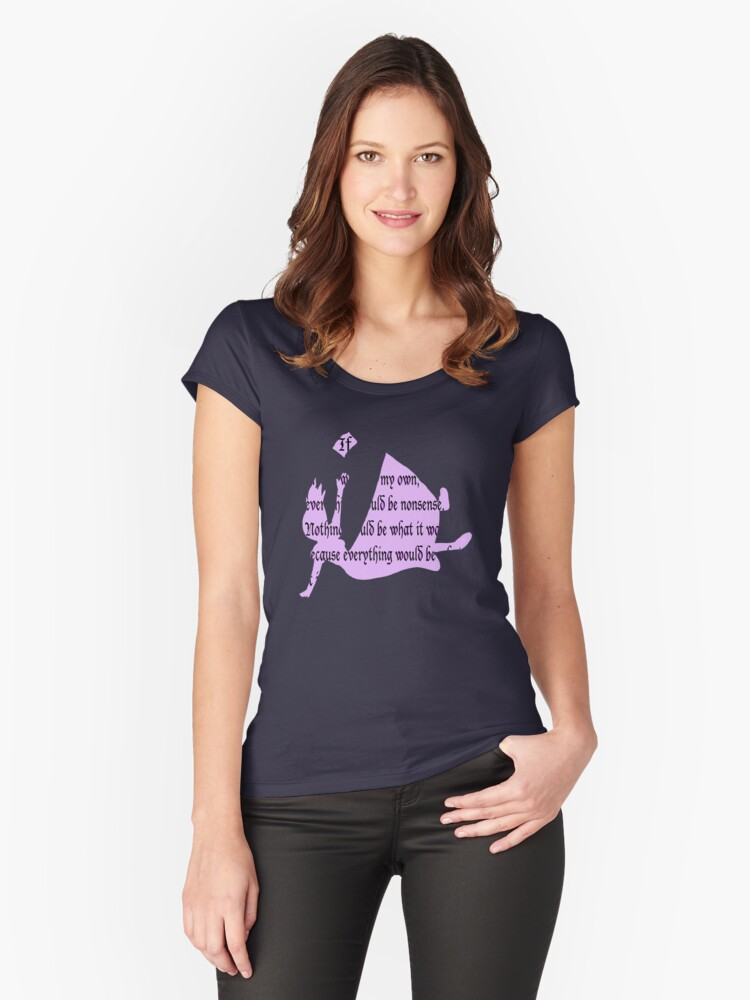 Nonsense Women's Fitted Scoop T-Shirt Front