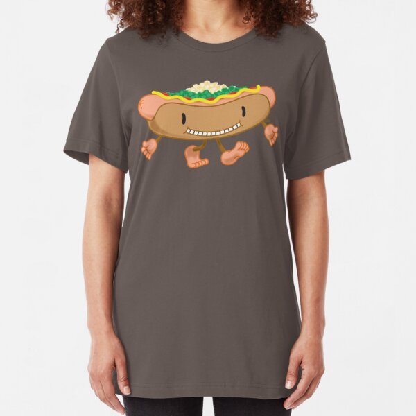 Hot Dog! Slim Fit T-Shirt