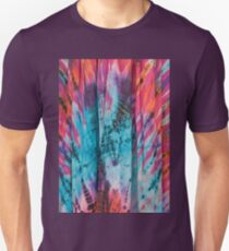 Colorful Eye Catching Tie Dye Fabric Unisex T-Shirt