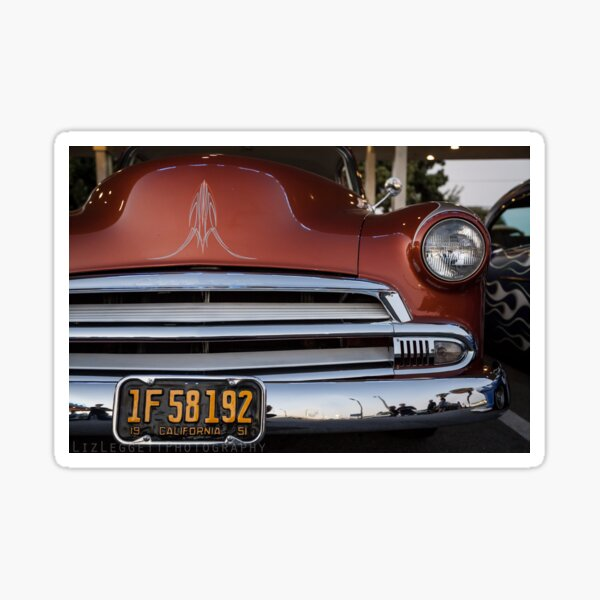 California Pinstripe - Liz Leggett Photography Sticker