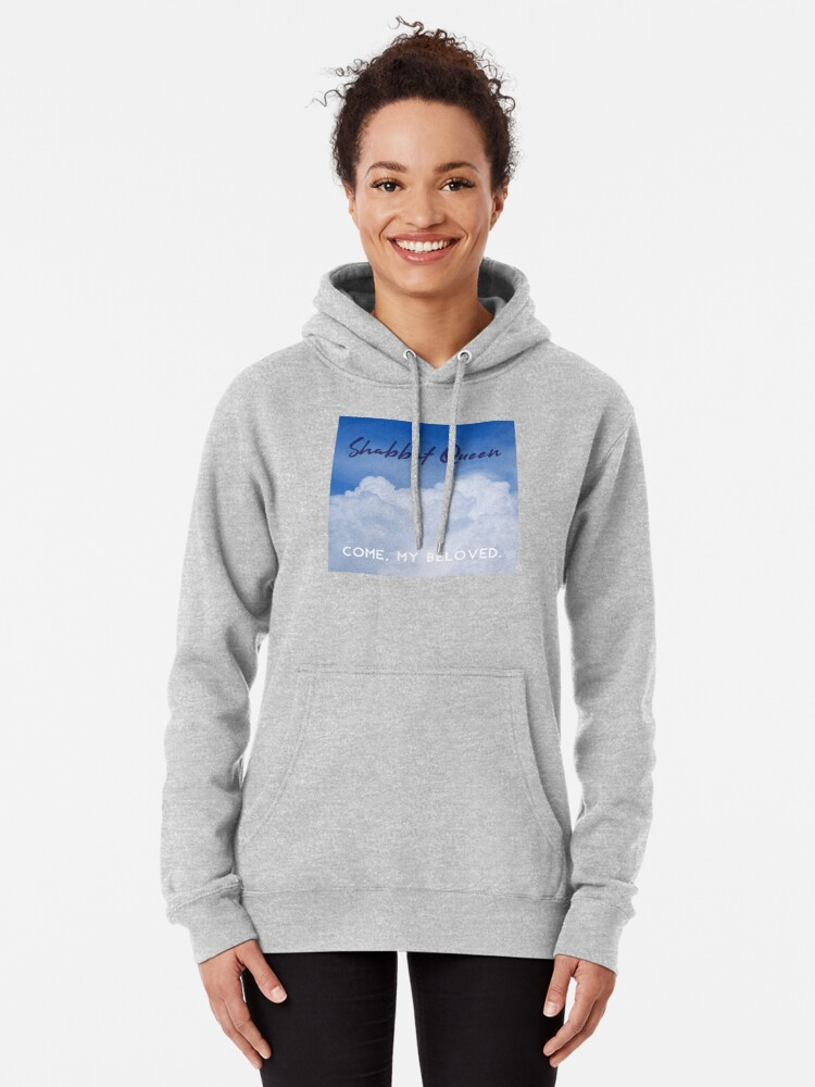 """Alternate view of Shabbat Queen: Come, My Beloved [""""album cover""""] Pullover Hoodie"""