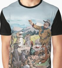 Teddy Roosevelt's Thanksgiving - Political Cartoon by Pughe   Graphic T-Shirt
