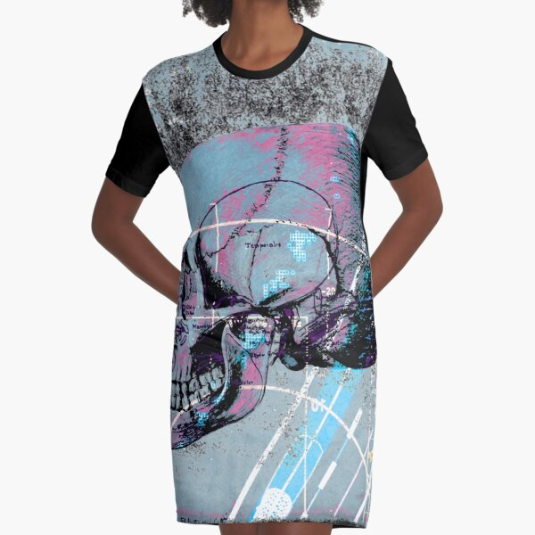 That Was Now, This Is Then Graphic T-Shirt Dress