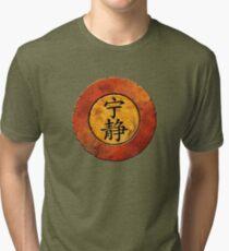 Serenity Symbol Tri-blend T-Shirt