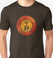 Camiseta ajustada Símbolo de serenidad