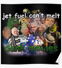 dank memes posters redbubble