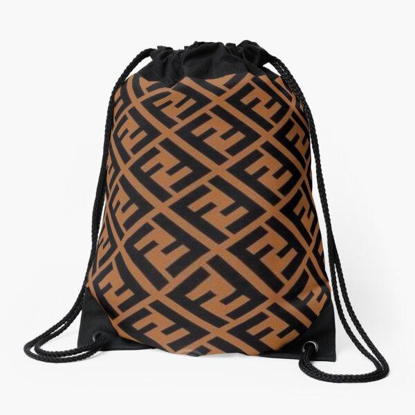 fendi luxury design Drawstring Bag