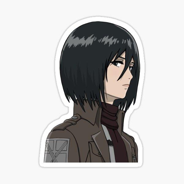 Ilustración de Mikasa Ackerman Pegatina