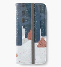 Schlafen im Wald iPhone Flip-Case/Hülle/Klebefolie