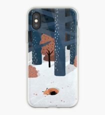 Asleep in the Woods iPhone Case