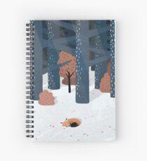 Cuaderno de espiral Dormido en el bosque