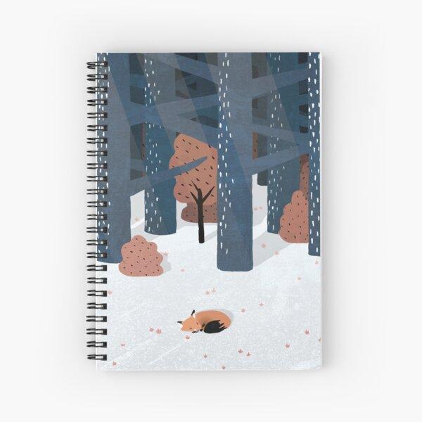 Asleep in the Woods Spiral Notebook