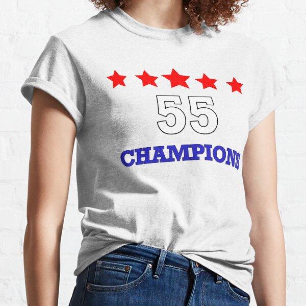 Rangers 55 T Shirt Champions 2021 White Classic T-Shirt
