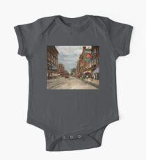 City - Lowell MA - A dam good company 1908 One Piece - Short Sleeve