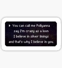 Pollyanna Sticker