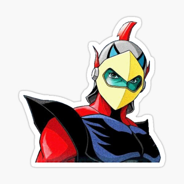Actarus GOLDRAKE Sticker