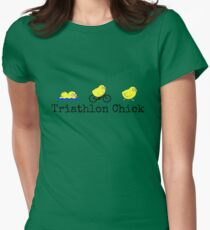 Triathlon Chick Women's Fitted T-Shirt
