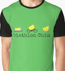Triathlon Chick Graphic T-Shirt