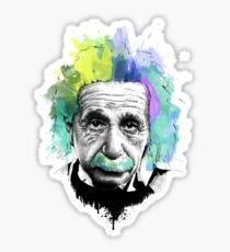 Pegatina Mind Blown - Albert Einstein